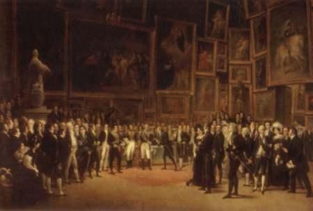 Le salon de peinture et de sculpture des origines au xixe si cle for Peinture du salon
