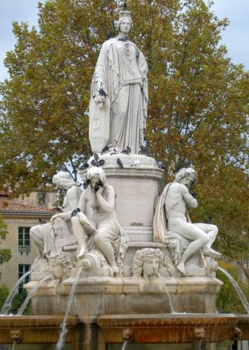 James Pradier : La Fontaine de l'Esplanade