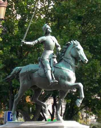 Paul Dubois : Jeanne d'Arc