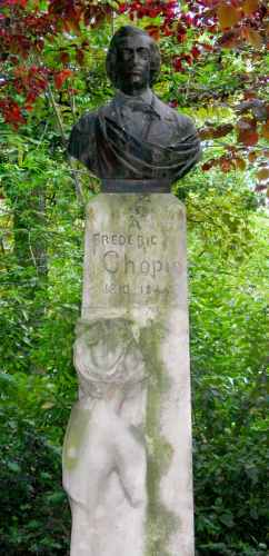 Paul Dubois : Monument � Fr�d�ric Chopin
