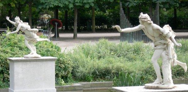 Jardin des tuileries le grand couvert - Salon de jardin couvert ...