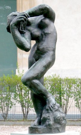 Auguste Rodin : La Méditation, avec bras