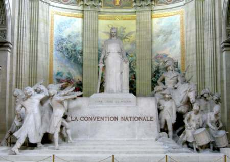 Fran�ois-L�on Sicard : Monument � la Convention nationale