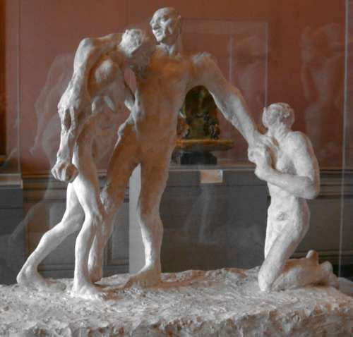 Camille Claudel : L'�ge mur, premi�re version