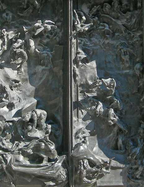 Sculptures dans les lieux publics rodin - La porte de l enfer rodin ...