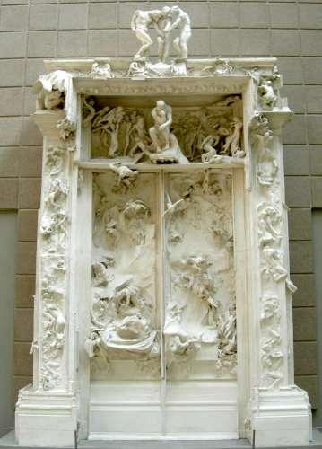 Biographie d 39 auguste rodin - La porte de l enfer rodin ...